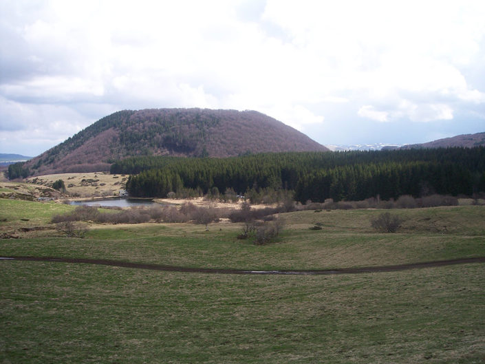vulkanengebied auvergne frankrijk