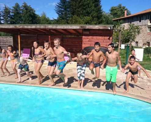 camping met zwembad