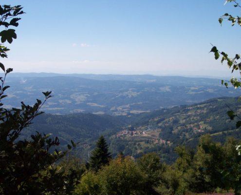 natuurpark Livradois Forez Auvergne midden Frankrijk