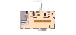 plattegrond recreatie eetzaal