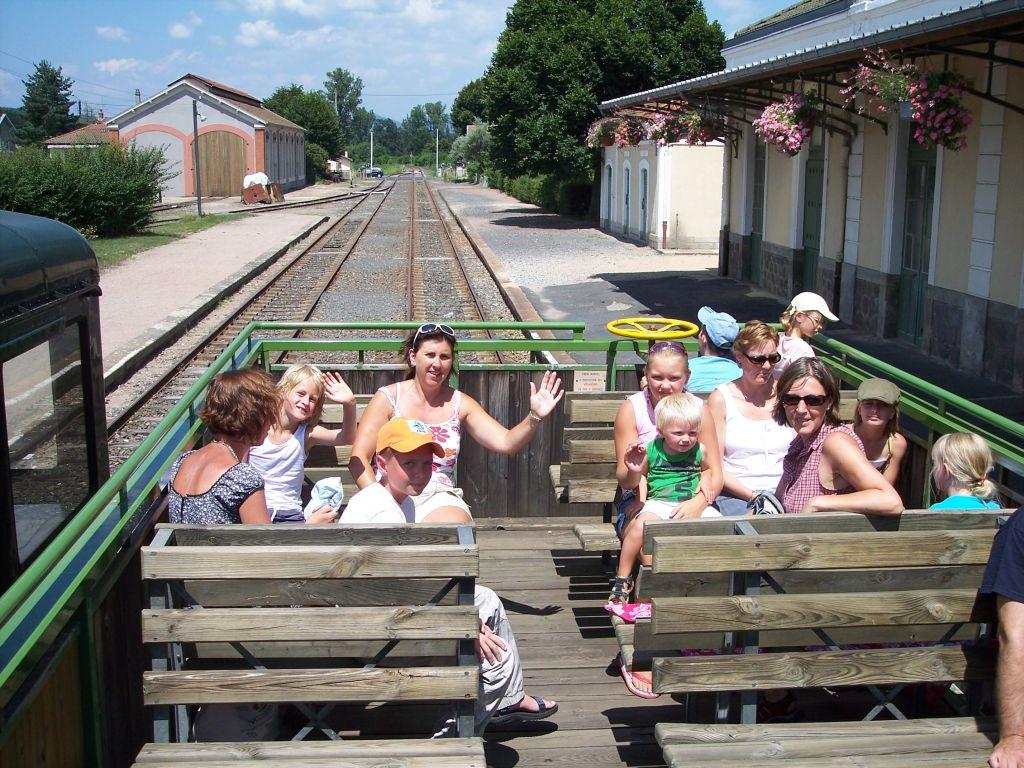 toeristen treinreis auvergne