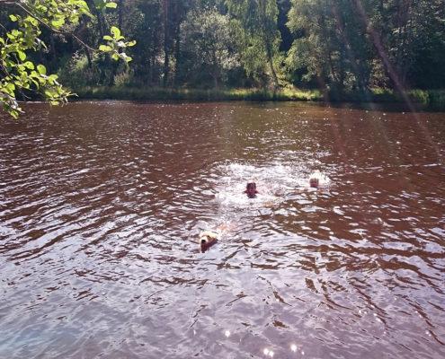 zwemmen in frankrijk